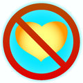 No heart Royalty Free Stock Photos