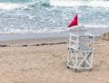 No Lifeguard on Duty Royalty Free Stock Photo