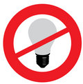 No light bulbs Royalty Free Stock Photography