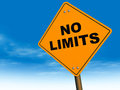 No limits Royalty Free Stock Photo