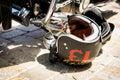 No. 13 Motorcycle Helmet