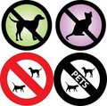 No Pets Allowed Sign Royalty Free Stock Images