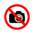 No Photography Sign Royalty Free Stock Photos
