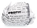 No profit - no victory Royalty Free Stock Photo