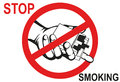 No smoke. Reject the offer of cigarettes. The concept of tobacco
