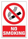 No smoking cigarette sign