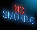 No smoking concept. Royalty Free Stock Photo