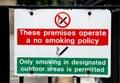 No smoking on premises Royalty Free Stock Images