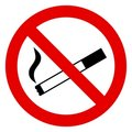 No Smoking Sign Stock Images