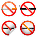 No smoking sign. Royalty Free Stock Photos