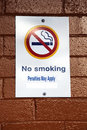 No smoking sign Stock Image