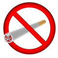 No smoking sign (AI format available) Royalty Free Stock Photo