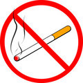 No smoking sign (cigarette) Royalty Free Stock Photography