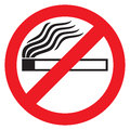 No smoking sign icon Royalty Free Stock Images
