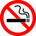 No smoking vector illustration of icon Stock Photo