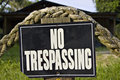 No Trespassing Stock Photos