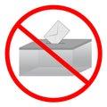 No vote Stock Photos