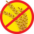 No Wheat Royalty Free Stock Photo