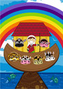 Noah and the Ark with Animals