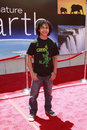 Noah gray cabey noah gray cabey at the unvieling of his new whalescape at the earth world premiere at the el capitan theatre april Royalty Free Stock Photo