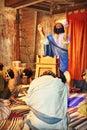 Noah and His Family Worshiping God Royalty Free Stock Photo