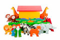 Noah's Ark and animals Royalty Free Stock Photo