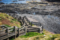 The nobbies phillip island nature reserve at on Stock Image