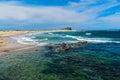 Nobby Beach in Newcastle NSW Australia. Royalty Free Stock Photo