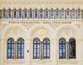 Nobel Peace Center in Oslo, Norway Royalty Free Stock Photos