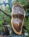 Nobility of Time, Salvador Dali Bronze Sculpture Royalty Free Stock Photo