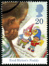Noddy UK Postage Stamp Royalty Free Stock Photo