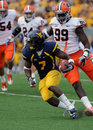 Noel Devine - WVU running back Royalty Free Stock Photos