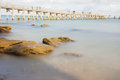 Noirmoutier Jetty Royalty Free Stock Photography