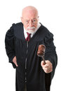 Nol Nonsense Skeptical Judge Stock Images
