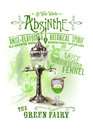 NOLA Collection Absinthe the Green Fairy Background Royalty Free Stock Photo