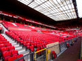 Non Match Day at Manchester United West Stand Royalty Free Stock Photo