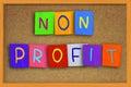 Non Profit Concept Royalty Free Stock Photo