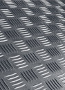 Non skid metal flooring Royalty Free Stock Photo