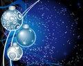 иллюстрация рождества шарика Стоковая Фотография RF