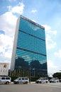 城市总部设新的联合国约克 免版税库存图片