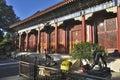 北京颐和园宫殿 免版税库存图片