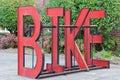 骑自行车机架 免版税库存照片