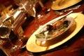 πιάτο γευμάτων Στοκ φωτογραφία με δικαίωμα ελεύθερης χρήσης