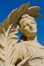 Άγαλμα στο παλάτι πόνου κτυπήματος Στοκ Εικόνα
