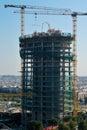 塞维利亚摩天大楼 免版税库存照片