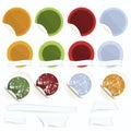 καθορισμένο διάνυσμα αυτοκόλλητων ετικεττών καπέλων αρχιμαγείρων μήλων Στοκ φωτογραφία με δικαίωμα ελεύθερης χρήσης