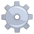 嵌齿轮轮子 免版税库存照片