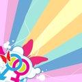 Мыжской и женский символ Стоковое Изображение