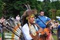 街道艺术家印第安民间音乐组 免版税库存图片
