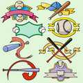 шаблон спорта серии Стоковые Изображения RF